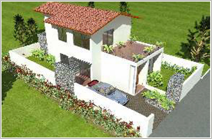 Plan 2 Bhk Plan For Bungalow Pictures to pin on Pinterest